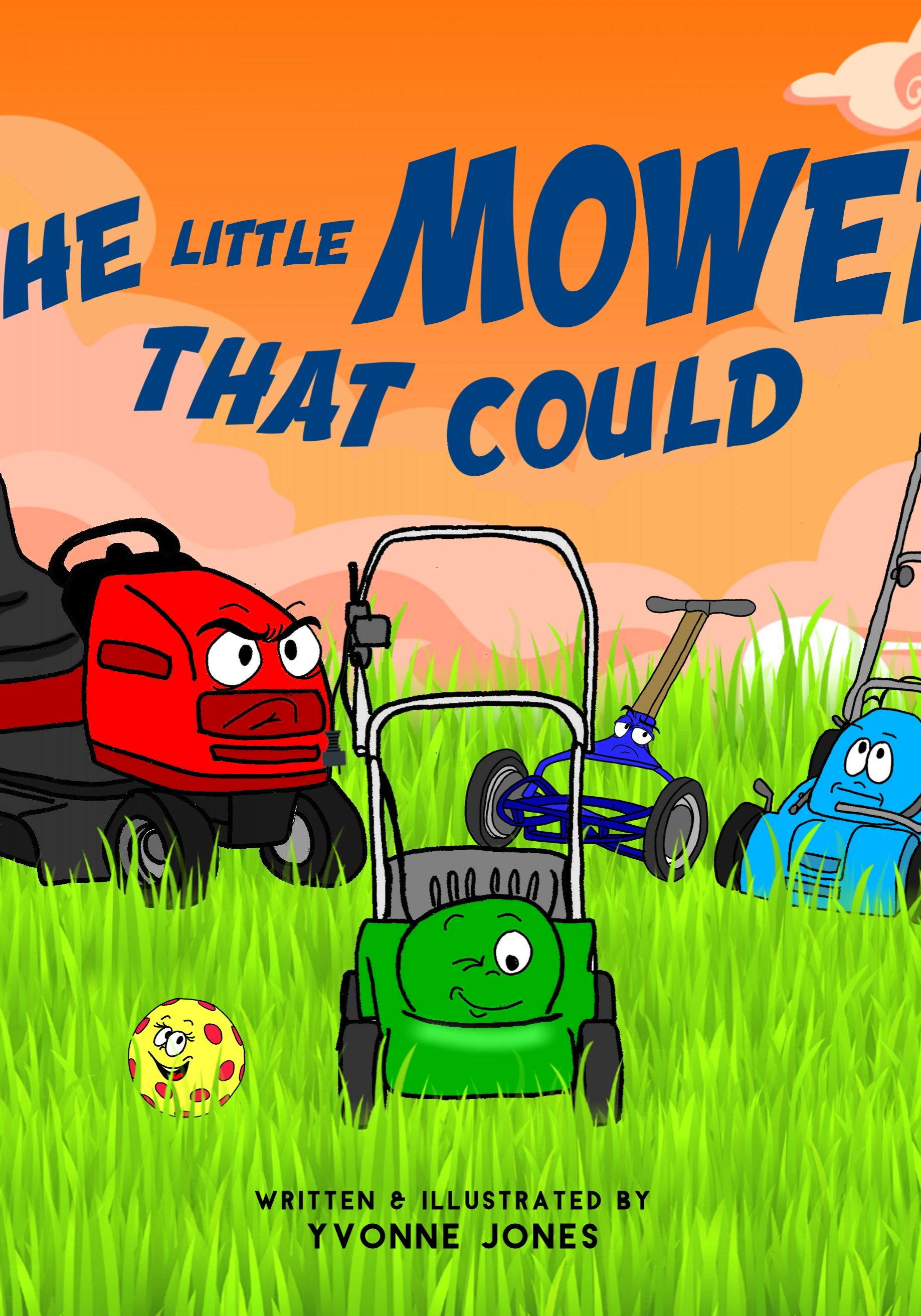 little mower that could yvonne jones book trailer loewenherz creative
