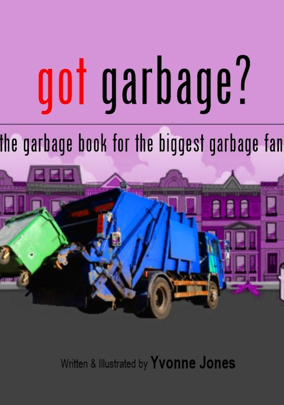got garbage book trailer loewenherz creative Yvonne Jones