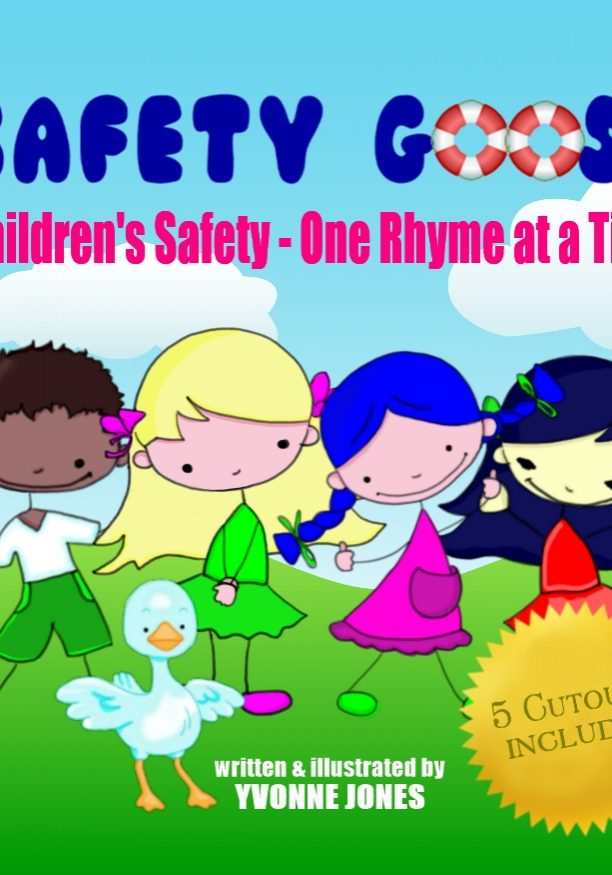 safety goose Yvonne jones book trailer loewenherz creative