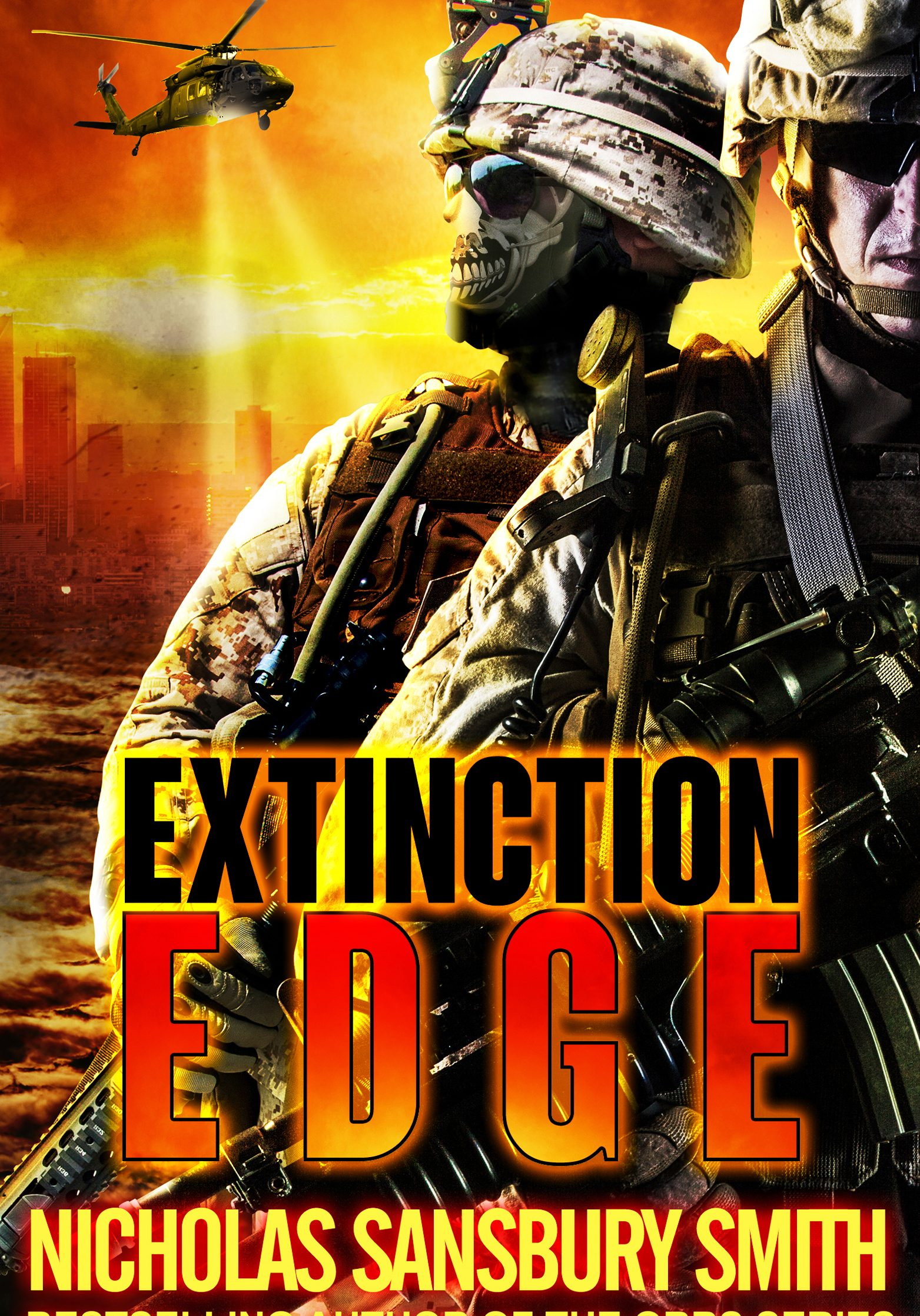 Extinction Edge book trailer loewenherz creative